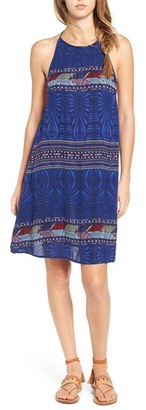 Roxy 'Sand Roast' Print Woven Slipdress $36.50 thestylecure.com