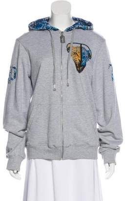 Philipp Plein Printed Zip-Up Jacket