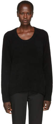 3.1 Phillip Lim Black Wool and Alpaca Sweater