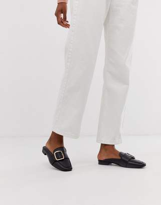 Park Lane leather mule loafers