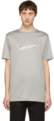 Lanvin Grey Anti-Logo T-Shirt