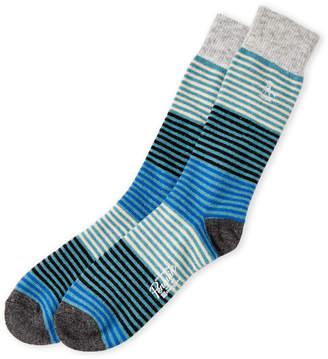 Original Penguin Striped Crew Socks