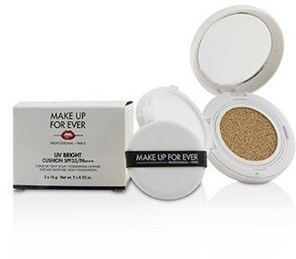 Make Up For Ever UV Bright Cushion SPF35/PA+++ - # Y245 Soft Sand 2x15g/0.52oz