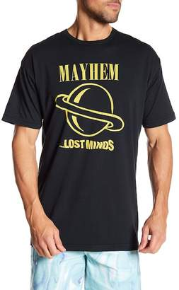 Lost Short Sleeve Front Graphic Tee