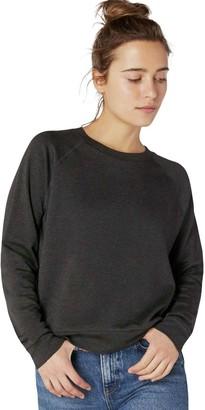 Beyond Yoga Raglan Crew Pullover Sweatshirt - Women's