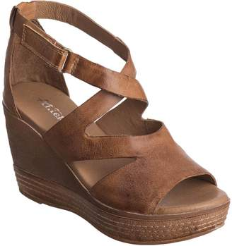 Antelope Women's 648 Leather Hi Cut Strap Wedge 39