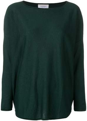 Snobby Sheep long-sleeve fitted top