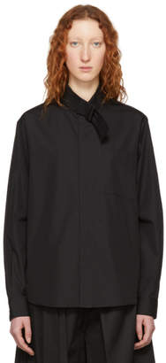 Craig Green Black Strap Shirt
