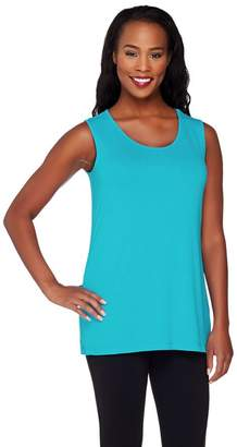 Joan Rivers Classics Collection Joan Rivers Jersey Knit Scoop Neck Tank