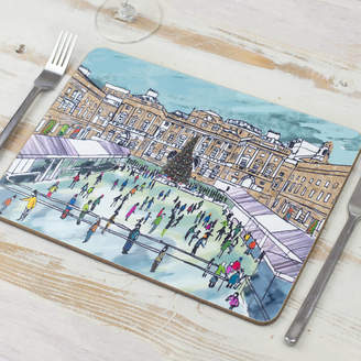 Emmeline Simpson Somerset Skating London Placemat