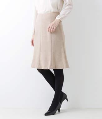 NEWYORKER women's ウールコットン ジャージー8枚はぎマーメイドスカート