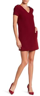 1 STATE 1.State Short Sleeve Shift Dress