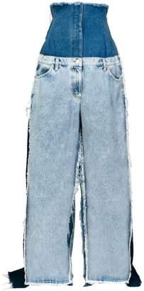 Natasha Zinko oversized super high-rise jeans