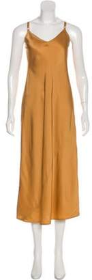 A.L.C. Sleeveless Maxi Dress Gold Sleeveless Maxi Dress