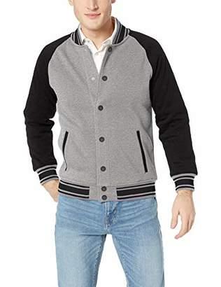 Armani Exchange A|X Men's Two-Tone Varsity-Style Jacket