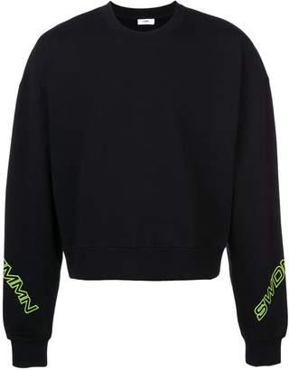 Cmmn Swdn logo print sweater