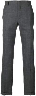 Prada houndstooth straight leg trousers