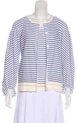 Sonia Rykiel Striped Cardigan Set