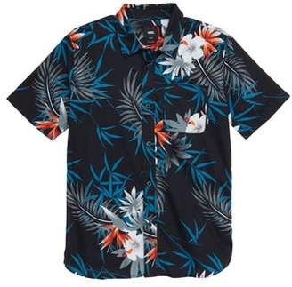 Vans Peace Out Floral Woven Shirt