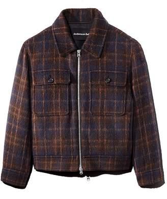 Andersson Bell Plaid Zip Jacket
