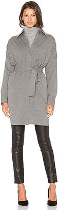 Norma Kamali Trench in Gray $210 thestylecure.com