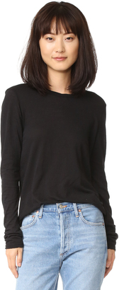 James Perse Long Sleeve Little Boy Tee $135 thestylecure.com