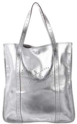 Anya Hindmarch Metallic Leather Tote
