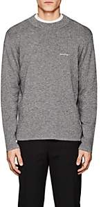 Second / Layer Men's Logo Merino Wool Sweater-Gray Size S