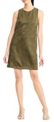 Adrianna Papell Suba Suede Shift Dress