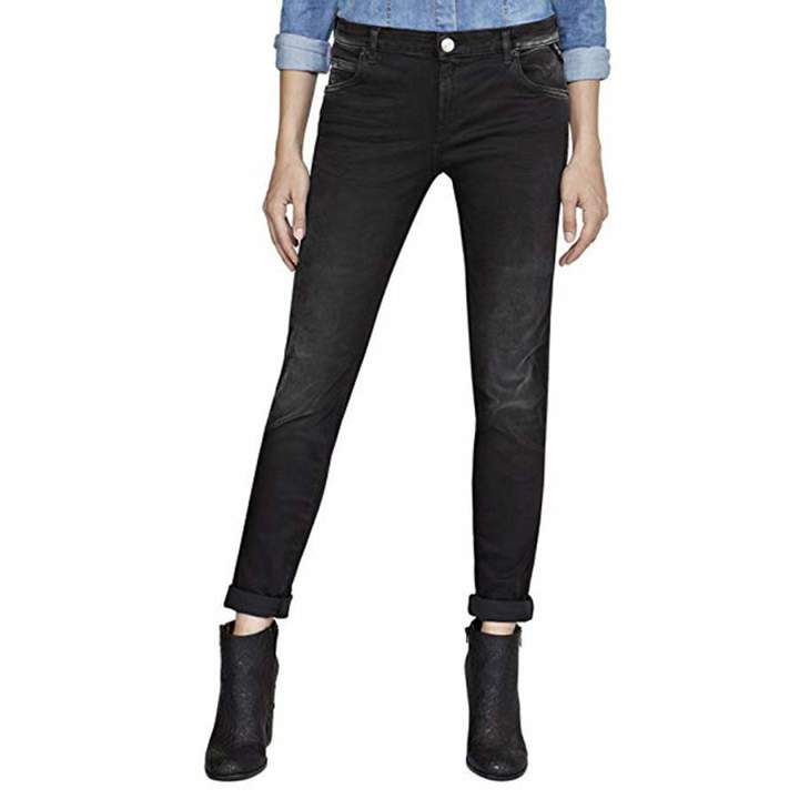 Black Wash Hyperflex Katewin Slim Stretch Jeans