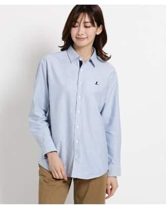 Dessin (デッサン) - Ladies [洗える]刺しゅうオックスシャツ