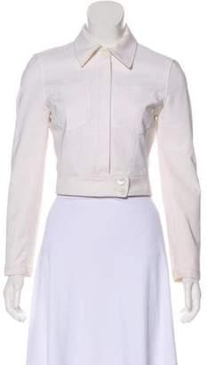 Prada Zip-Up Cropped Jacket