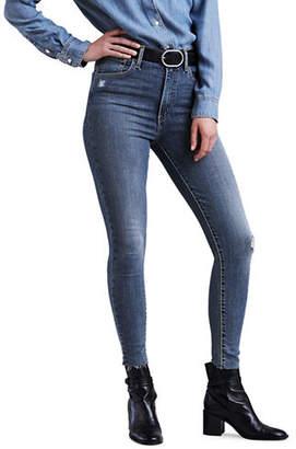 Levi's Take A Break Super Skinny Ankle Jeans