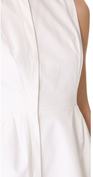 Ellery Asymmetrical Placket Dress