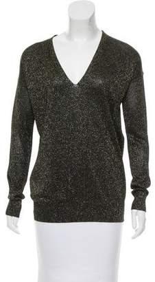 Diane von Furstenberg Ania Metallic Sweater