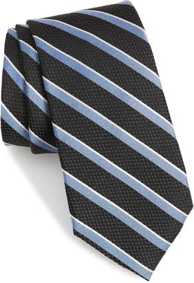 Calibrate Fillmore Stripe Silk Tie
