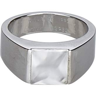 Cartier Vintage Tank Silver White gold Ring