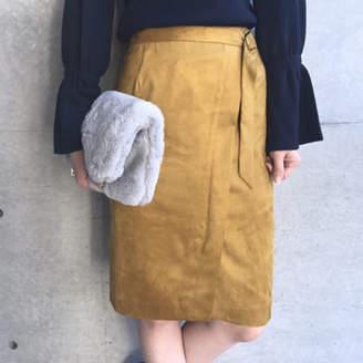 aquagirl (アクアガール) - aquagirl /CROLLA 【WEB限定】マイクロスエードタイトスカート