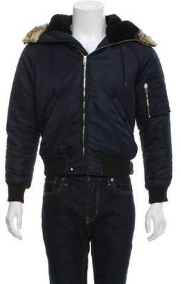 Saint Laurent 2015 Woven Bomber Jacket
