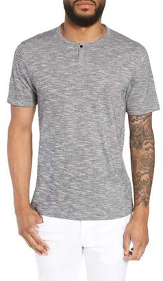 Calibrate Trim Fit One-Snap Henley