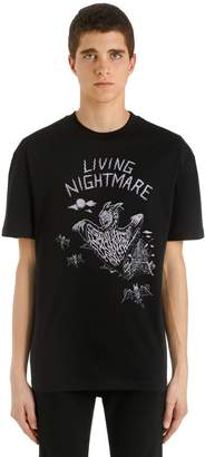 McQ Living Nightmare Printed Jersey T-Shirt