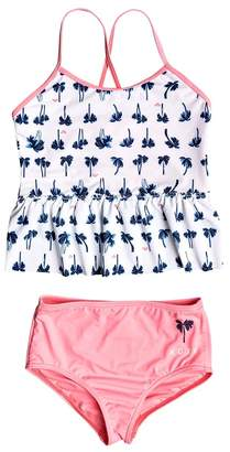 Roxy Toddler Miss Beachachas Tankini Set