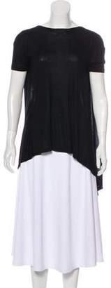 Rue Du Mail Knit Short Sleeve Top