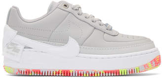 Nike Grey Air Force 1 Jester XX Sneakers
