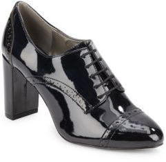 Oxford-Inspired Lace-Up Boots $135 thestylecure.com