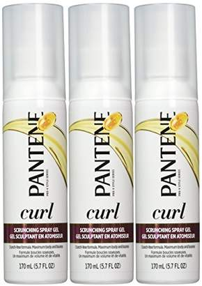 Pantene Curl Hair Gel 5.7 Oz (Pack of 3)