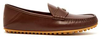 Gucci Kanye Leather Loafers - Mens - Brown