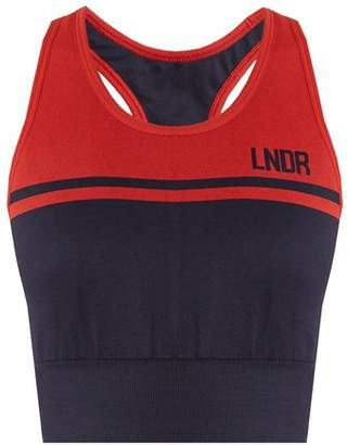 Lndr - A Grade Seamless Performance Bra - Womens - Navy