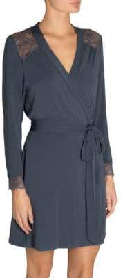 Eberjey Astrid Belted Wrap Robe