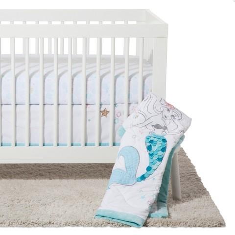 DisneyDisney© Crib Bedding Set 3pc - Ariel Sea Princess